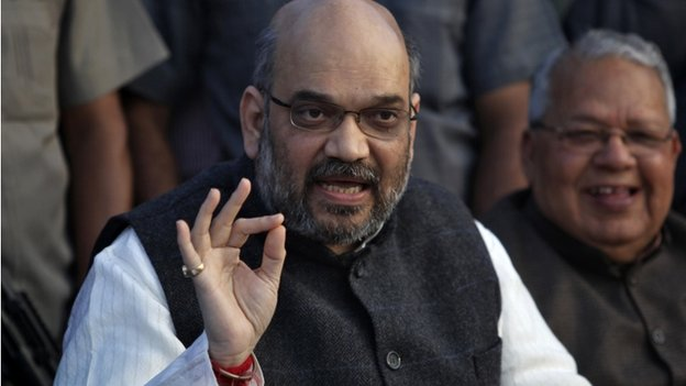 Amit Shah is the BJP's campaign manager in Uttar Pradesh