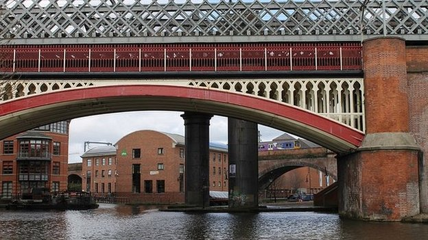 Castlefield Basin, Manchester