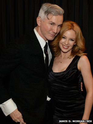 Baz Luhrmann and Kylie Minogue