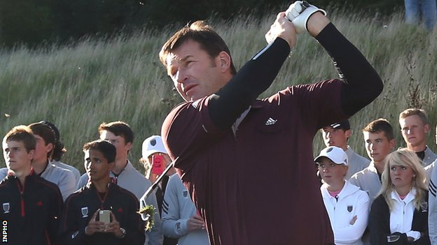 Sir Nick Faldo