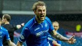 Stevie May scored twice for St Johnstone against Aberdeen