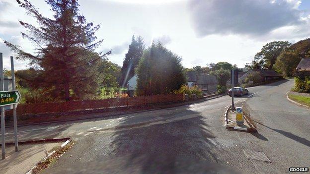 A5 - A494 junction near Corwen, Denbighshire