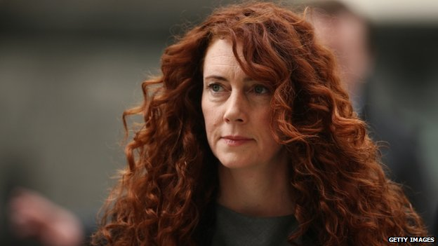 Rebekah Brooks arriving at the Old Bailey on 31 March 2014
