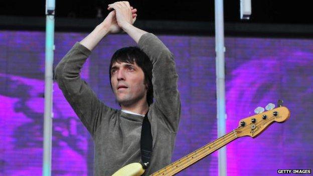 Radiohead's Colin Greenwood