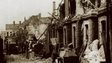 Belfast houses damaged in Blitz