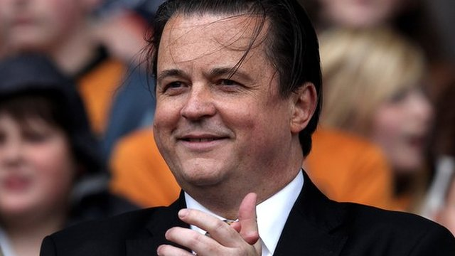Wolves chief executive Jez Moxey