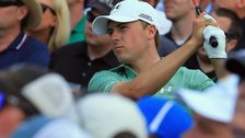 Jordan Spieth at the Masters