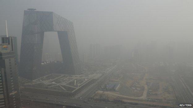 Beijing haze