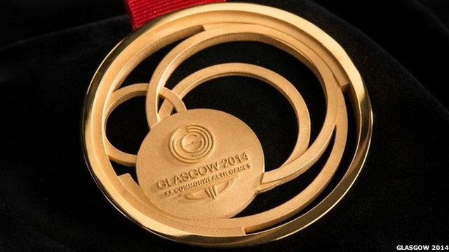 Gold Commonwealth medal