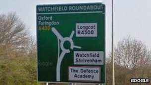 Watchfield roundabout