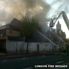 Tooting fire