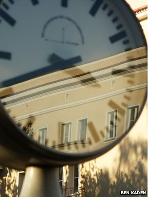 Clock in Eisenhuettenstadt