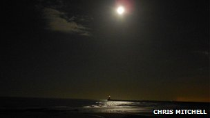 Moonlight in Seaburn