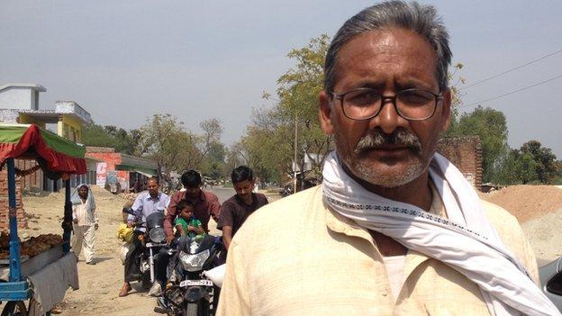 Amethi villager Mohammad Naeem Khan
