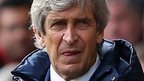 Man City manager Manuel Pellegrini