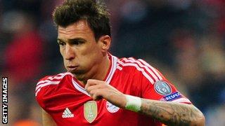 Bayern Munich forward Mario Mandzukic