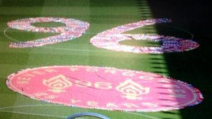 96 tribute in scarves