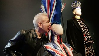 French fashion designer Jean Paul Gaultier