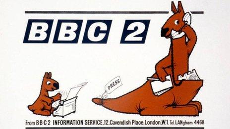 BBC Two kangaroos
