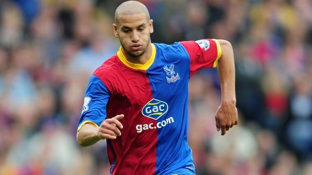 Crystal Palace and Algeria's Adlene Guedioura