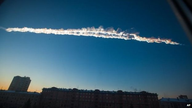 Meteor over Chelyabinsk, 15 Feb