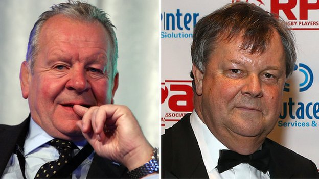 Bill Beaumont and Ian Ritchie