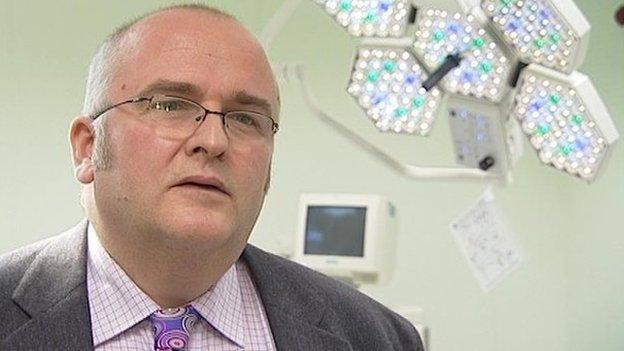 Surgeon Simon Bramhall