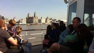 Silence observed on Mersey ferries