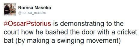 Nomsa Maseko tweet