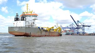 Port of Felixstowe dredging