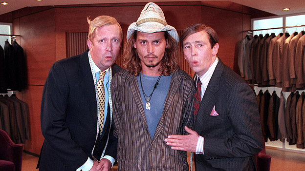 Johnny Depp on The Fast Show