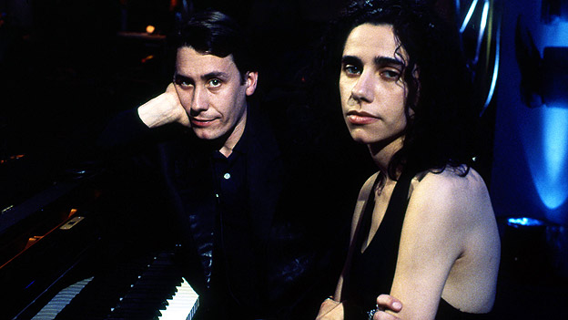 Later... with Jools Holland, with PJ Harvey