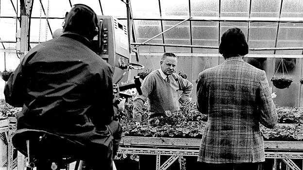 Percy Thrower on Gardener's World