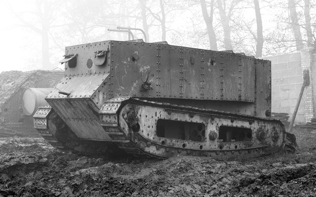 Experimental tank 'Little Willie'