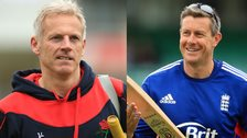 Peter Moores & Ashley Giles