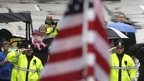Flag raised at Boston Marathon bombing memorial