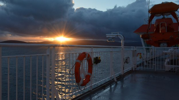 Scapa flow sunset