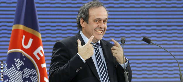 Uefa president Michel Platini wants a more level playing field