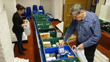 Hackney food bank