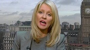 Welfare Minister Esther McVey MP