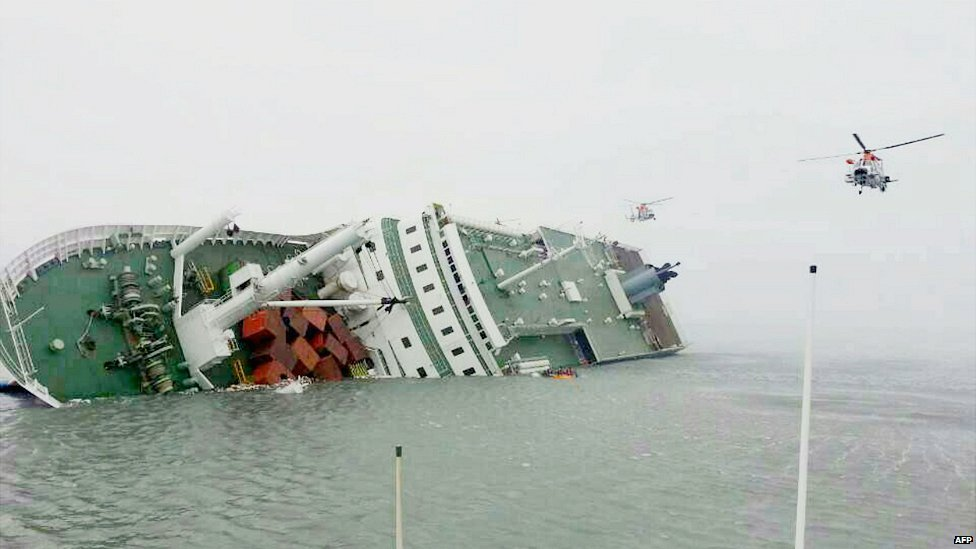 In pictures: South Korea ferry sinks - BBC News