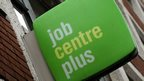 A Job Centre sign