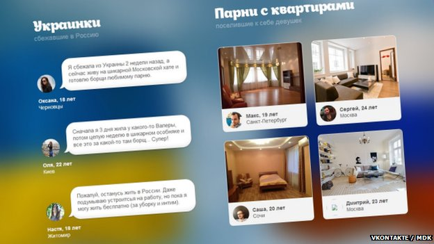 Page from the UkrainianToEveryHouse website