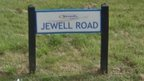 Jewell Road sign