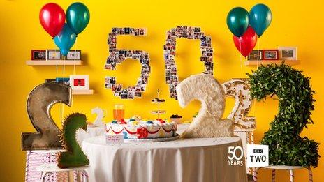 BBC Two celebrates 50th birthday