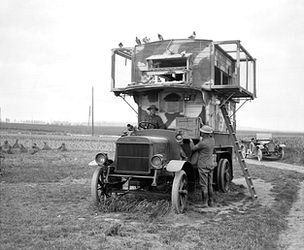 Bus used as pigeon loft
