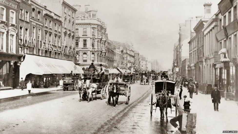 John Lewis, 132 Oxford Street, 1884