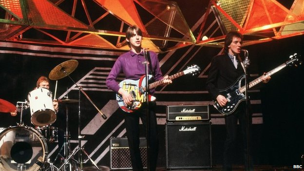 The Jam on Top of the Pops in 1980