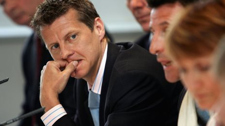 British Athletics' Steve Cram