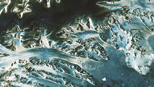 Sentinel image of Antarctic
